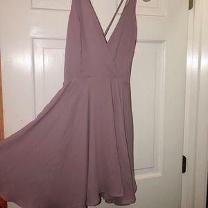 Kimchi Blue strappy dress - lilac